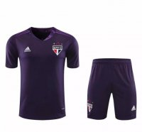 Sao Paulo 20/21 Goalkeeper Soccer Unifroms Purple
