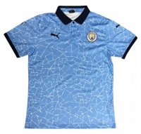 Manchester City 20/21 Polo Jersey Blue