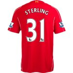 Liverpool 14/15 STERLING #31 Home Soccer Jersey