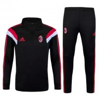 AC Milan 2015-16 Black Sweater Suit With Pants
