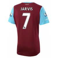 West Ham 2015-16 JARVIS #7 Home Soccer Jersey