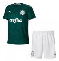 2020/21 Kids Palmeiras Home Soccer Youth Kit (Shirt+Shorts)
