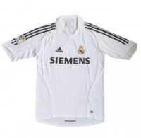 Retro Real Madrid 2005/06 Home Soccer Jersey