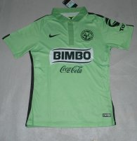 Club American 2015/16 Green Third Soccer Jersey