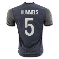 Germany 2016 HUMMELS #5 Away Soccer Jersey