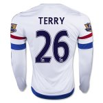 Chelsea 2015-16 TERRY #26 LS Away Soccer Jersey