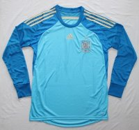 2014 FIFA World Cup Spain GoalKeeper Long Sleeve Soccer Jersey