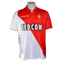 13-14 AS Monaco FC Home Soccer Jersey Shirt