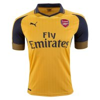 Arsenal 2016/17 Away Soccer Jersey Yellow