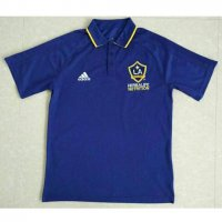 Los Angeles Galaxy 2017/18 Blue Polo Shirt