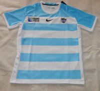 Rugby World Cup 2015 Argentina White-Blue Shirt