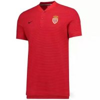 AS Monaco FC 2017/18 Red Polo Shirt