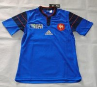 Rugby World Cup 2015 France Blue Shirt