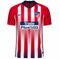 Player Version Atletico Madrid 18/19 Home Soccer Jersey Shirt