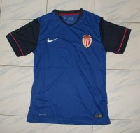 AS Monaco FC 14-15 Blue Away Soccer Jersey