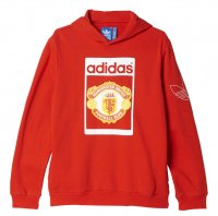 Manchester United 2015-16 Fleece Hoodies Red