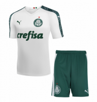 19/20 Kids Palmeiras Away Soccer Kit (Shirt+Shorts)