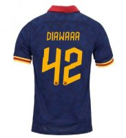DIAWARA #42 AS Roma 19/20 3rd Away Soccer Jersey