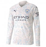 Manchester City 20/21 3rd Away Long Sleeve Soccer Jersey