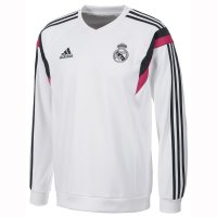 Real Madrid 14/15 White Sweatshirt