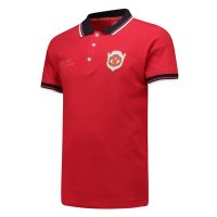 Manchester United 1999/2019 Polo Jersey Shirt Red 20 Years Anniversary