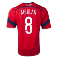 2014 FIFA World Cup Colombia Abel Aguilar #8 Away Soccer Jersey