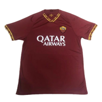 AS Roma 19/20 Home Soccer Jersey Shirt