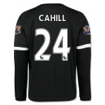 Chelsea 2015-16 CAHILL #24 LS Third Soccer Jersey