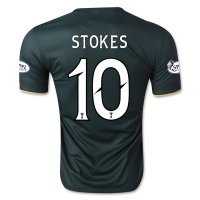 Celtic 14/15 STOKES #10 Away Soccer Jersey
