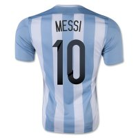 2015/16 Argentina MESSI #10 Home Soccer Jersey