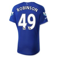 Everton 2015-16 ROBINSON #49 Home Soccer Jersey