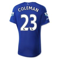 Everton 2015-16 COLEMAN #23 Home Soccer Jersey