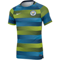 Manchester City 18/19 Training Jersey Shirt Dry Squad GX Stripe