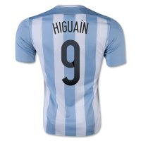 2015/16 Argentina HIGUAIN #9 Home Soccer Jersey