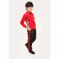 Kids Mancehster United 16/17 Red Tracksuit