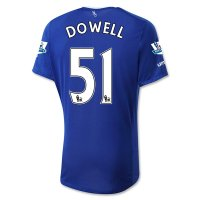 Everton 2015-16 DOWELL #51 Home Soccer Jersey