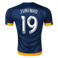 LA Galaxy 2015-16 JUNINHO #19 Away Soccer Jersey