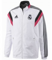 Real Madrid 14/15 White Anthem Jacket