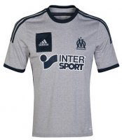 Olympique Marseille 14/15 Grey Away Soccer Jersey