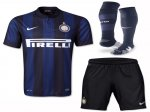 13-14 Inter Milan Home Soccer Whole Kit(Shirt+Short+Socks)