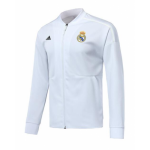 Real Madrid 18/19 Training Jacket Top White