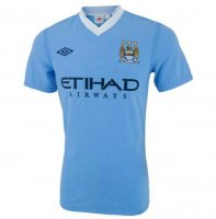 Manchester City 11/12 Home Soccer Jersey Retro