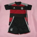 Kids 2014 World Cup Germany Away Whole Kit(Shirt+Shorts)