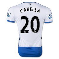 Newcastle United 2015-16 CABELLA #20 Home Soccer Jersey