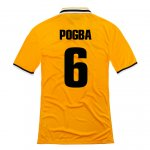 13-14 Juventus #6 Pogba Away Yellow Jersey Shirt