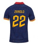 ZANIOLO #22 AS Roma 19/20 3rd Away Soccer Jersey