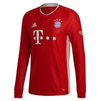 Bayern Munich 20/21 Home Long Sleeve Soccer Jersey
