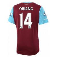 West Ham 2015-16 OBIANG #14 Home Soccer Jersey