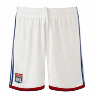 Olympique Lyon 18/19 Home Soccer Jersey Shorts