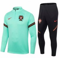 Portugal 2020 Tracksuit Green Training Top and Pants